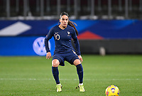 French Amel Majri (10) pictured during the Womens International Friendly game between France and Switzerland at Stade Saint-Symphorien in Longeville-lès-Metz, France.