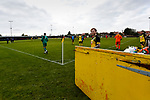 Joe Ashurst of Hucknall Town waits to have his picture taken before the second half. Hucknall Town v Heanor Town, 17th October 2020, at the Watnall Road Ground, East Midlands Counties League. Photo by Paul Thompson.