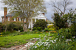Heirloom gardens at The Plantation House at Boone Hall Plantation, Mt. Pleasant, SC