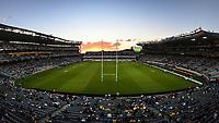 3rd April 2021; Eden Park, Auckland, New Zealand;  General view.<br /> Blues v Hurricanes Super Rugby Aotearoa. Eden Park, Auckland. New Zealand. Saturday 3 April 2021.
