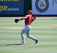 Jose Reyes - Los Angeles Angels 2019 extended spring training (Bill Mitchell)