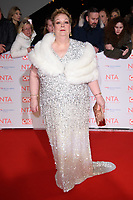 Anne Hegerty<br /> arriving for the National Television Awards 2018 at the O2 Arena, Greenwich, London<br /> <br /> <br /> ©Ash Knotek  D3371  23/01/2018