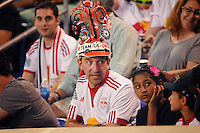 HARRISON, NJ - Saturday July 19, 2014: The New York Red Bulls tie the San Jose Earthquakes 1-1 at Red Bull Arena in regular season MLS play.