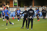 San Jose, CA - Wednesday June 28, 2017: Steve Ralston prior to a U.S. Open Cup Round of 16 match between the San Jose Earthquakes and the Seattle Sounders FC at Avaya Stadium.