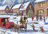 Marcello, CHRISTMAS LANDSCAPES, WEIHNACHTEN WINTERLANDSCHAFTEN, NAVIDAD PAISAJES DE INVIERNO, paintings+++++,ITMCXM1999,#XL#