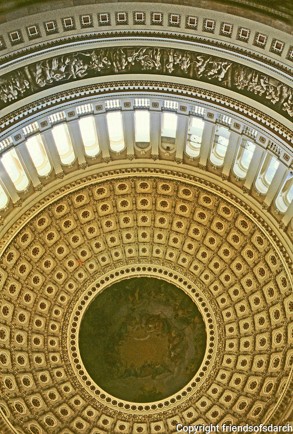 Washington  D.C. : Capitol Rotunda.