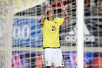 Colombia's Edwin Cardona celebrates goal during international friendly match. June 7,2017.(ALTERPHOTOS/Acero) (NortePhoto.com) (NortePhoto.com)
