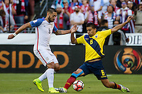 Seattle, WA - Thursday, June 16, 2016: United States forward Clint Dempsey (8) during a Quarterfinal match of the 2016 Copa America Centenrio at CenturyLink Field.