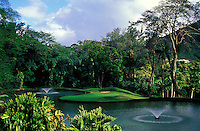 Luana Hills number 11 designed by Perry Dye, Oahu