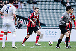 FC Seoul Midfielder Osmar Barba (c) in action during the 2017 Lunar New Year Cup match between Auckland City FC (NZL) vs FC Seoul (KOR) on January 28, 2017 in Hong Kong, Hong Kong. Photo by Marcio Rodrigo Machado/Power Sport Images