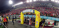 BOGOTÁ - COLOMBIA, 02-08-2016: Independiente Santa Fe y Deportes Tolima en partido por la semifinal vuelta de la Liga Águila II 2017 jugado en el estadio Nemesio Camacho El Campin de la ciudad de Bogotá. / Independiente Santa Fe and Deportes Tolima in match for the second leg semifinal of the Aguila League II 2017 played at the Nemesio Camacho El Campin Stadium in Bogota city. Photo: VizzorImage/ Gabriel Aponte / Staff