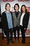"""Michael Wolff, Alex Wolff and Polly Draper attend the Opening Night of The New Group World Premiere of """"All The Fine Boys"""" at the The Green Fig Urban Eatery on March 1, 2017 in New York City."""