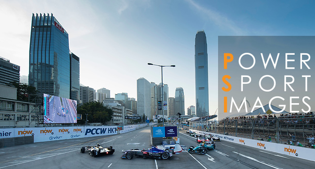 Sam Bird #2 of Great Britain from DS Virgin Racing competes  in the FIA Formula E Hong Kong 2017 E-Prix Round 1 at the Central Harbourfront Circuit on 02 December 2017 in Hong Kong, Hong Kong. Photo by Marcio Rodrigo Machado / Power Sport Images