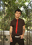 Various portrait sessions of the rock band, Green Day