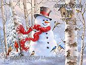 Dona Gelsinger, CHRISTMAS SANTA, SNOWMAN, WEIHNACHTSMÄNNER, SCHNEEMÄNNER, PAPÁ NOEL, MUÑECOS DE NIEVE, paintings+++++,USGE1415C,#x#