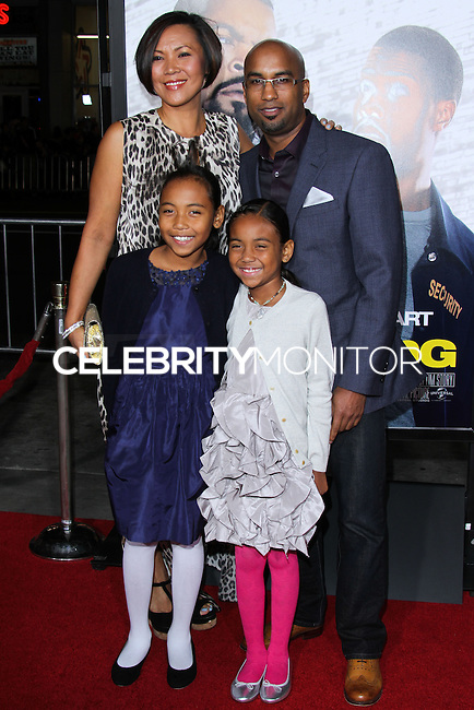 """HOLLYWOOD, CA - JANUARY 13: Tim Story at the Los Angeles Premiere Of Universal Pictures' """"Ride Along"""" held at the TCL Chinese Theatre on January 13, 2014 in Hollywood, California. (Photo by David Acosta/Celebrity Monitor)"""