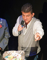 """Special guest, actor, John Altman, """"Nasty Nick"""" from TV's """"East Enders"""", drawing the raffle.  Special Olympics Surrey put on a show,   """"Beyond the Stars"""", at the Rose Theatre, Kingston upon Thames to raise money for the  SOGB team.  The Special Olympics are for athletes with learning disabilities."""