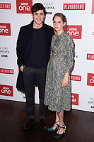 """Jonah Hauer-King and Maya Hawke<br /> arriving for the """"Little Women"""" screening at the Soho Hotel, London<br /> <br /> <br /> ©Ash Knotek  D3360  11/12/2017"""