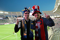 Carson, CA - Sunday January 28, 2018: Fans prior to an international friendly between the men's national teams of the United States (USA) and Bosnia and Herzegovina (BIH) at the StubHub Center.