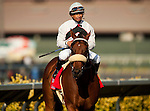 Amazombie with Mike Smith aboard withs the Bing Crosby Stakes at Del Mar Race Course in Del Mar, California on July 29, 2012.