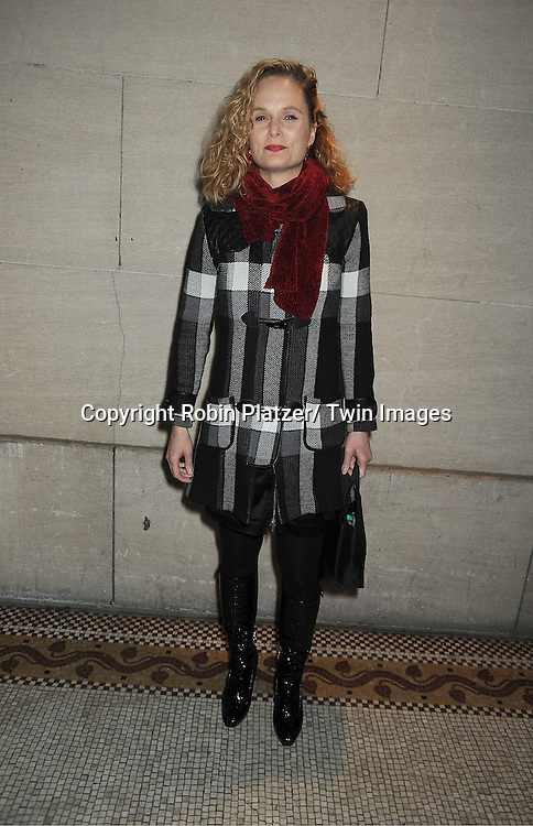 Barbara Garrick  attends the One Life to Live Wrap Party on November 18, 2011 at Capitale in New York City.