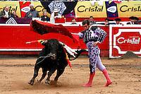 MANIZALES - COLOMBIA - 08-01-2017: The Spanish bullfighter Morante de la Puebla in action during the bullfighting season 61 Feria of Manizales. Photo: VizzorImage / Santiago Osorio / Cont.