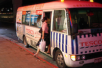 Free shuttle bus to and from TESCO supermarket in Taipwi. TESCO is Britain's largest food retailer. Taiwan is the third Asian market (after Thailand and South Korea) that TESCO has tackled..01 OCT 05 ..
