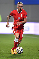 Kamil Grosicki of Poland in action during the Uefa Nation League Group Stage A1 football match between Italy and Poland at Citta del Tricolore Stadium in Reggio Emilia (Italy), November, 15, 2020. Photo Andrea Staccioli / Insidefoto