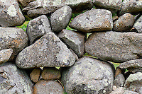 Stone fence, Martha's Vineyard, Massachusetts,, USA