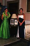 ELISABETTA DE BALKANY CON LA MADRE MARIA GABRIELLA DI SAVOIA<br /> DICIOTTESIMO COMPLEANNO DI ELISABETTA DE BALKANY<br /> PALAZZO VOLPI VENEZIA AGOSTO 1990