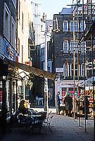 London: Shepherd's Market, Mayfair.