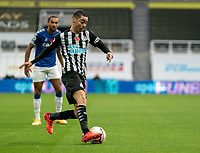 1st November 2020; St James Park, Newcastle, Tyne and Wear, England; English Premier League Football, Newcastle United versus Everton; Miguel Almirón of Newcastle United drives into the box in the first half