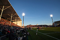 A general view during the 2020 Super Rugby match between the Crusaders and Highlanders at Orangetheory Stadium in Christchurch, New Zealand on Saturday, 9 August 2020. Photo: Joe Johnson / lintottphoto.co.nz
