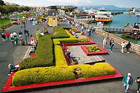 Pier 39 and Fisherman's Wharf, San Francisco, California