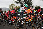 Emanuel Buchmann (GER) Bora-Hansgrohe in the peloton during Stage 2 of the Itzulia Basque Country 2021, running 154.8km from Zalla to Sestao, Spain. 6th April 2021.  <br /> Picture: Luis Angel Gomez/Photogomezsport   Cyclefile<br /> <br /> All photos usage must carry mandatory copyright credit (© Cyclefile   Luis Angel Gomez/Photogomezsport)