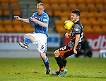 St Johnstone v Kilmarnock...07.11.15  SPFL  McDiarmid Park, Perth<br /> Steven Anderson and Greg Kiltie<br /> Picture by Graeme Hart.<br /> Copyright Perthshire Picture Agency<br /> Tel: 01738 623350  Mobile: 07990 594431