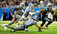 11/18/18: Photography of the Carolina Panthers v. The Detroit Lions, at Ford Field in Detroit, MI.<br /> <br /> Charlotte Photographer - PatrickSchneiderPhoto.com
