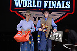 Newt Lemond, Caden Tinsley, during the Team Roping Back Number Presentation at the Junior World Finals. Photo by Andy Watson. Written permission must be obtained to use this photo in any manner.