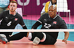 Jamoi Anderson and Bryce Foster, Lima 2019 - Sitting Volleyball // Volleyball assis.<br />