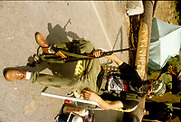 Crise d'oka 1990<br /> <br /> PHOTO :  : Agence Quebec Presse - shani komulainen