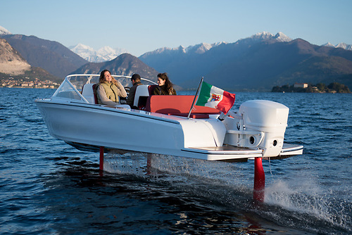 Candela C-7 is the world's first electric hydrofoil boat - and will be available for test drives in Venice, May 29- June 6.
