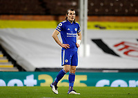 3rd February 2021; Craven Cottage, London, England; English Premier League Football, Fulham versus Leicester City; Caglar Soyuncu of Leicester City
