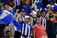 Harrison, NJ - Friday July 07, 2017: Honduras fans during a 2017 CONCACAF Gold Cup Group A match between the men's national teams of Honduras (HON) vs Costa Rica (CRC) at Red Bull Arena.
