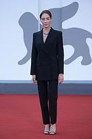 Cristiana Capotondi attending the Un Autre Monde Premiere as part of the 78th Venice International Film Festival in Venice, Italy on September 09, 2021. <br /> CAP/MPIIS<br /> ©MPIIS/Capital Pictures