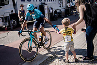 kid getting a bidon post-race<br /> <br /> 17th Benelux Tour 2021<br /> Stage 5 from Riemst to Bilzen (BEL/192km)<br /> <br /> ©kramon