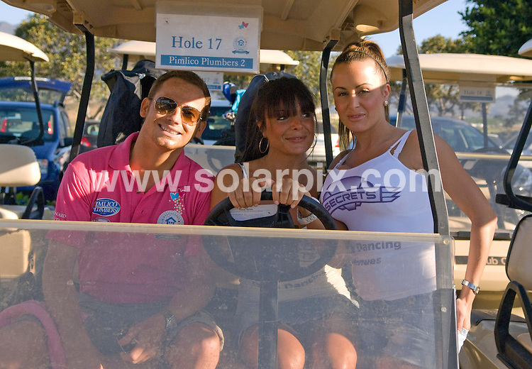 **ALL ROUND EXCLUSIVE PICTURES FROM SOLARPIX.COM**.**WORLDWIDE SYNDICATION RIGHTS**.Joe Swash pictured participating in the Rhys Daniels Trust celebrity golf tournament, Marbella, Spain. 4 June 2010.This pic: Joe Swash..JOB REF: 11395 JGS        DATE: 04_06_2010.**MUST CREDIT SOLARPIX.COM OR DOUBLE FEE WILL BE CHARGED**.**MUST NOTIFY SOLARPIX OF ONLINE USAGE**.**CALL US ON: +34 952 811 768 or LOW RATE FROM UK 0844 617 7637**
