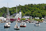 Boothbay Harbor in Boothbay, ME, USA