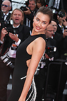 IRINA SHAYK - RED CARPET OF THE FILM 'LA FILLE INCONNUE' AT THE 69TH FESTIVAL OF CANNES 2016