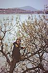 Andrea Crane ? In Tree