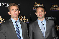 BEVERLY HILLS, CA - FEBRUARY 27: Caleb Walker, Cody Walker at the 3rd Annual Noble Awards at the  Beverly Hilton Hotel in Beverly Hills, California on February 27, 2015. Credit: David Edwards/DailyCeleb/MediaPunch